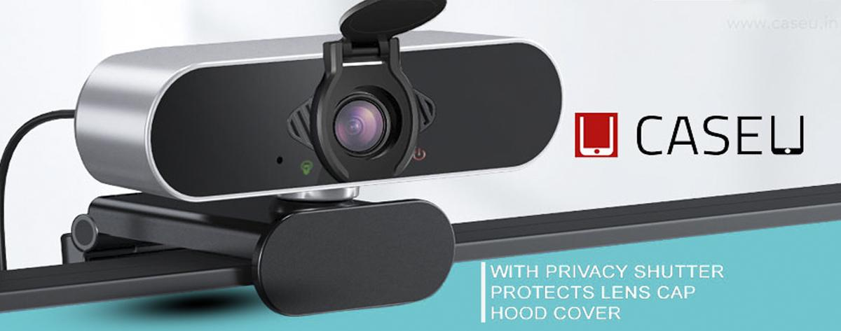 Best Case U HD 360 Degree Rotation HD Webcam with Microphone Online India