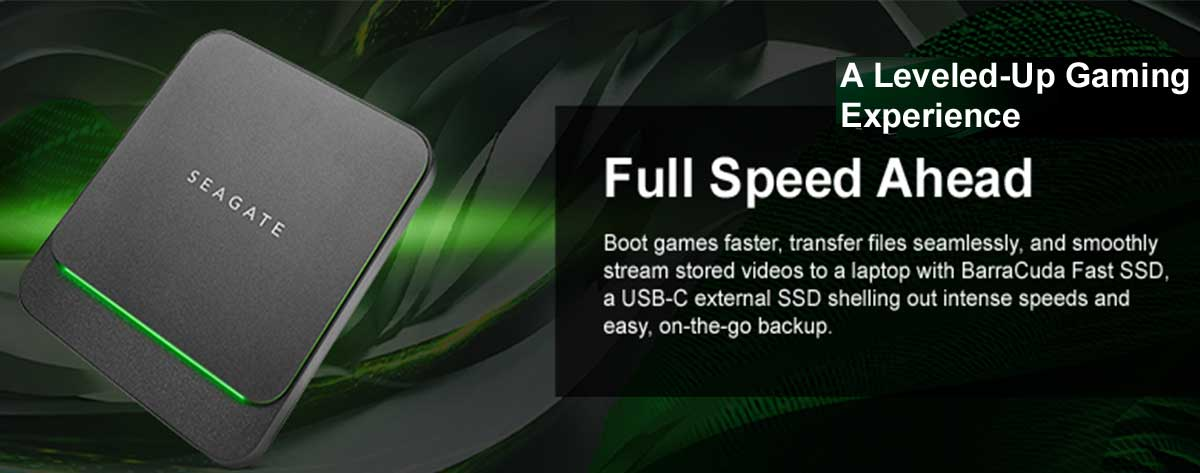 Best Seagate Lightweight Barracuda Fast SSD External Portable Drive Online India