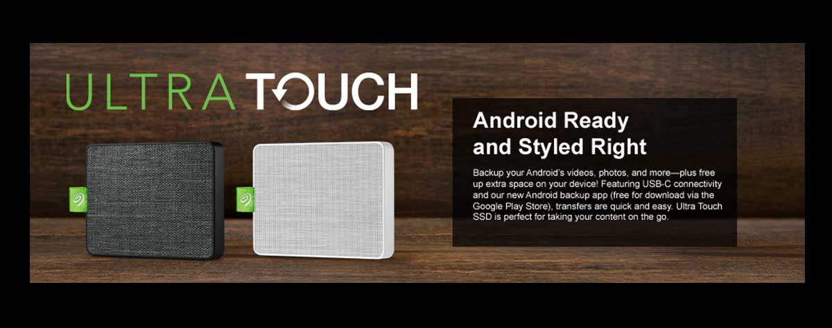 Best Seagate Ultra Touch SSD External Portable Drive For All Devices Online India