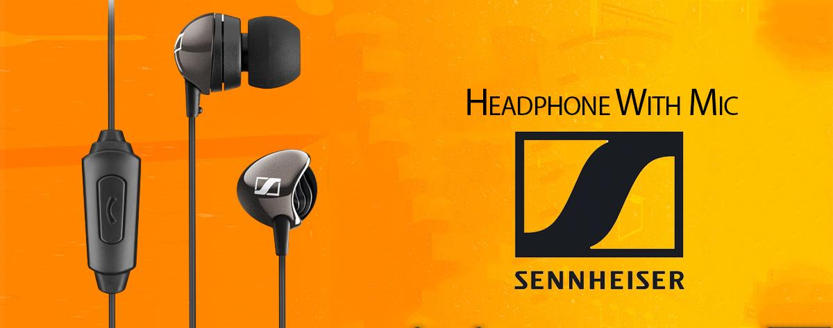 Best Sennheiser Wired Headphones with Mic For smartphones Online India