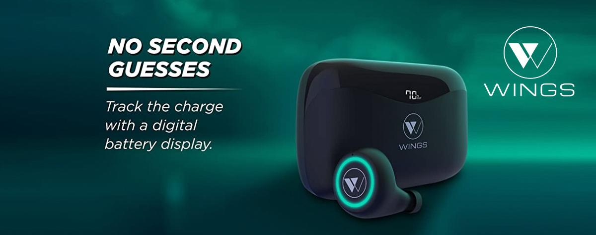 Best Wings Touch Control Wireless Bluetooth Earbuds With Microphone Online India