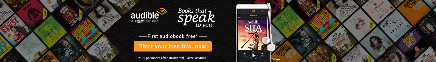 Audible Book Online India 2020