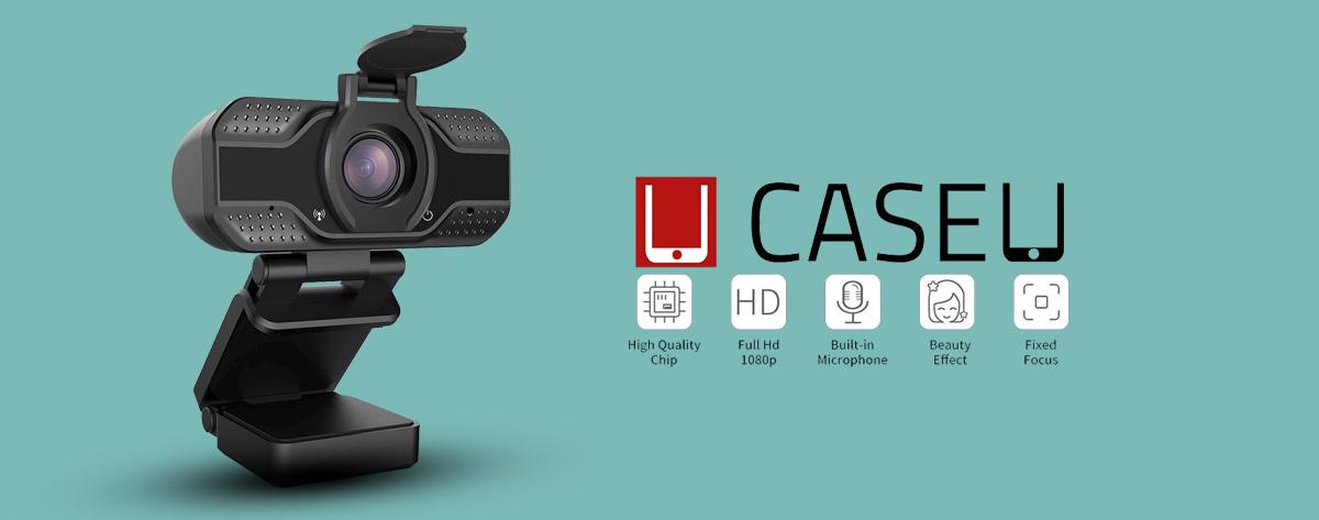 Best Case U HD USB Webcam with Microphone for Desktop or Laptop Online India