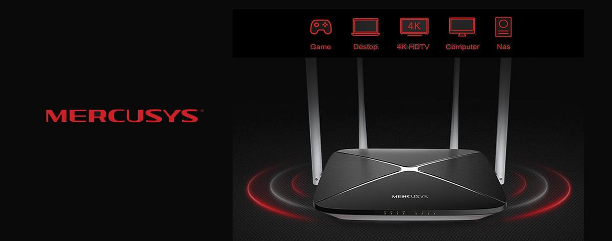 Best Mercusys Wireless AC1200 Dual Band Gigabit Router For Home Use Online India