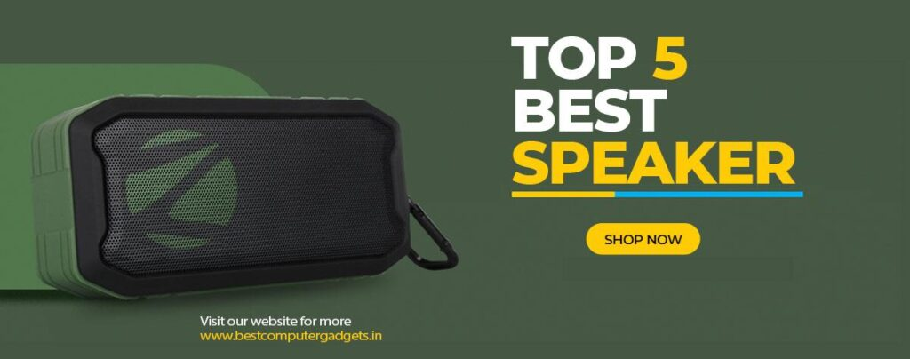 Top 5 Best Bluetooth Wireless Speakers at Best Price Online India 2020 BestComputerGadgets.In