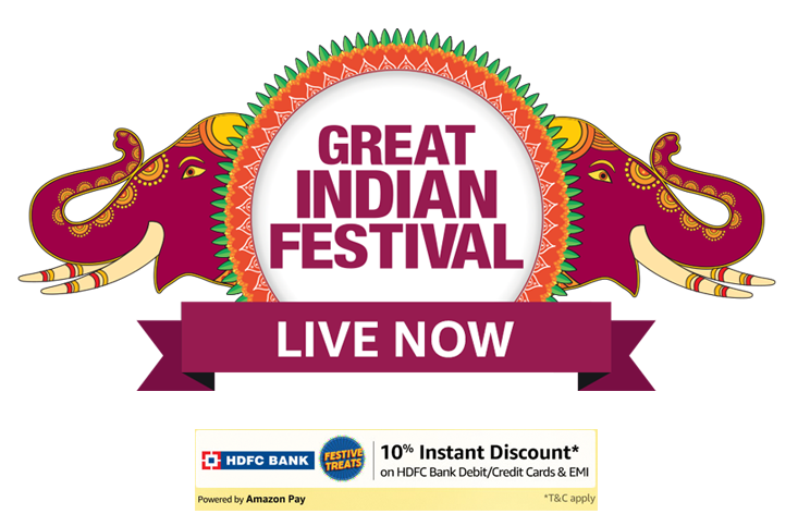 Best Great Indian Festival Sale deals On Speakers Background Live Now