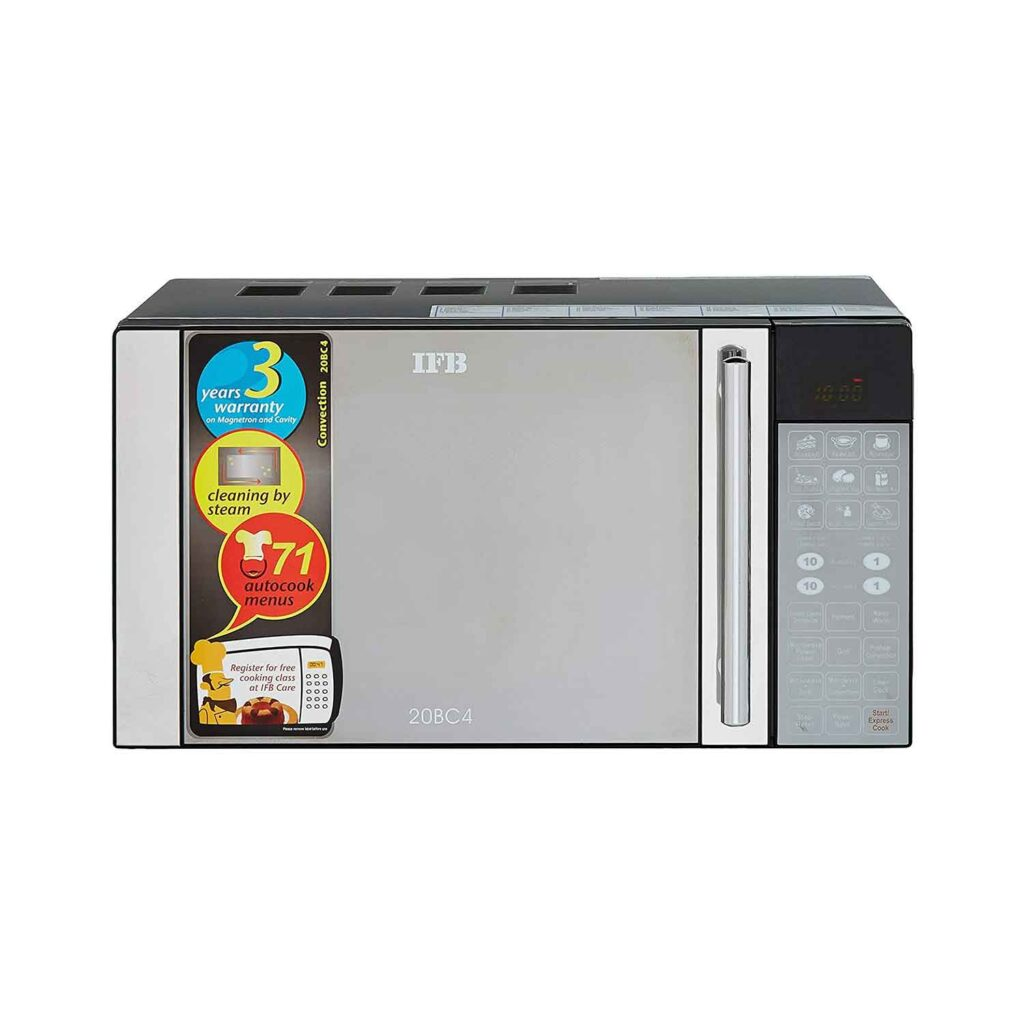 IFB 20 L Convection Microwave Oven (20BC4, Black, With Starter Kit) Online India 2020