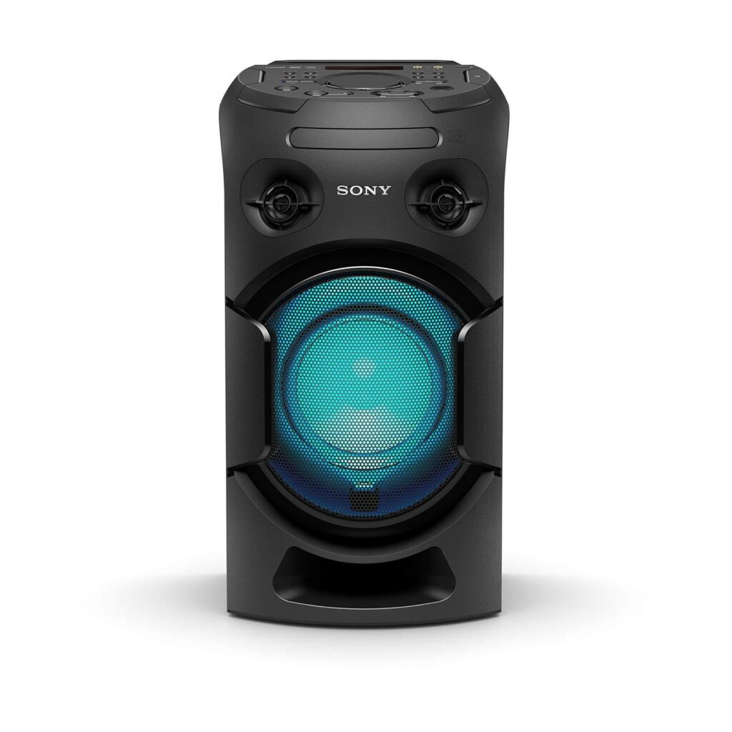 Sony MHC Party Speaker with Long Distance Bass Sound high power Portable party system black Online India