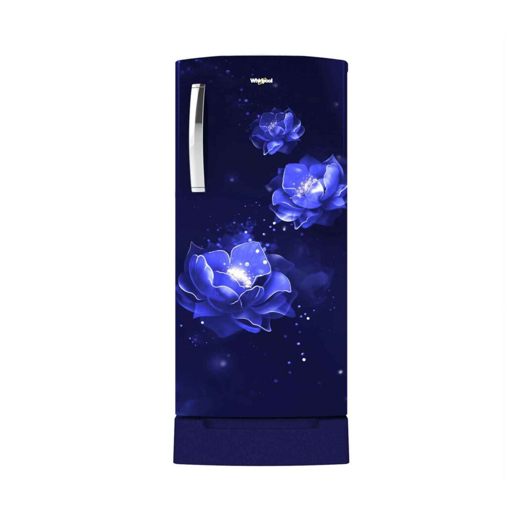 Whirlpool 215 L 5 Star Inverter Direct-Cool Single Door Refrigerator (230 IMPRO ROY 55 INV Sapphire ABYSS, Sapphire Abyss) Online India 2020