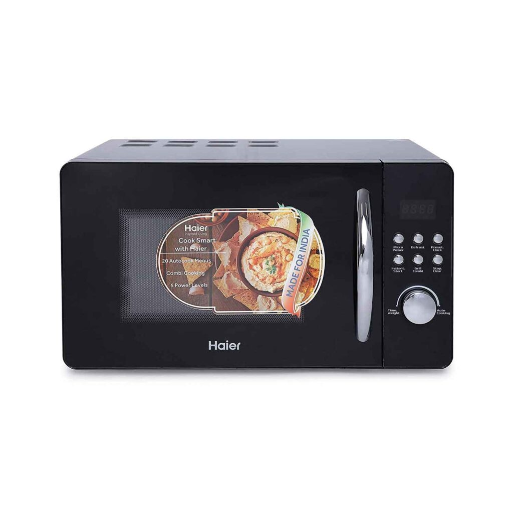 aier 20 L Grill Microwave Oven (HIL2001GBPH, Black) Online India 2020 V1