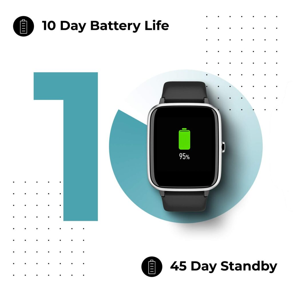 Best Noise Colorfit Pro 2 Full Touch Control Smart Watch 10 day battery life Online India 2020