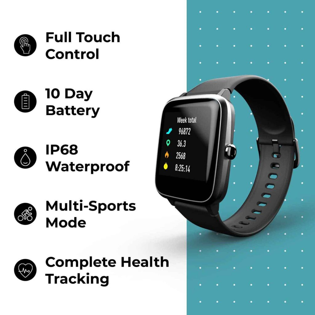 Best Noise Colorfit Pro 2 Full Touch Control Smart Watch Features Online India 2020