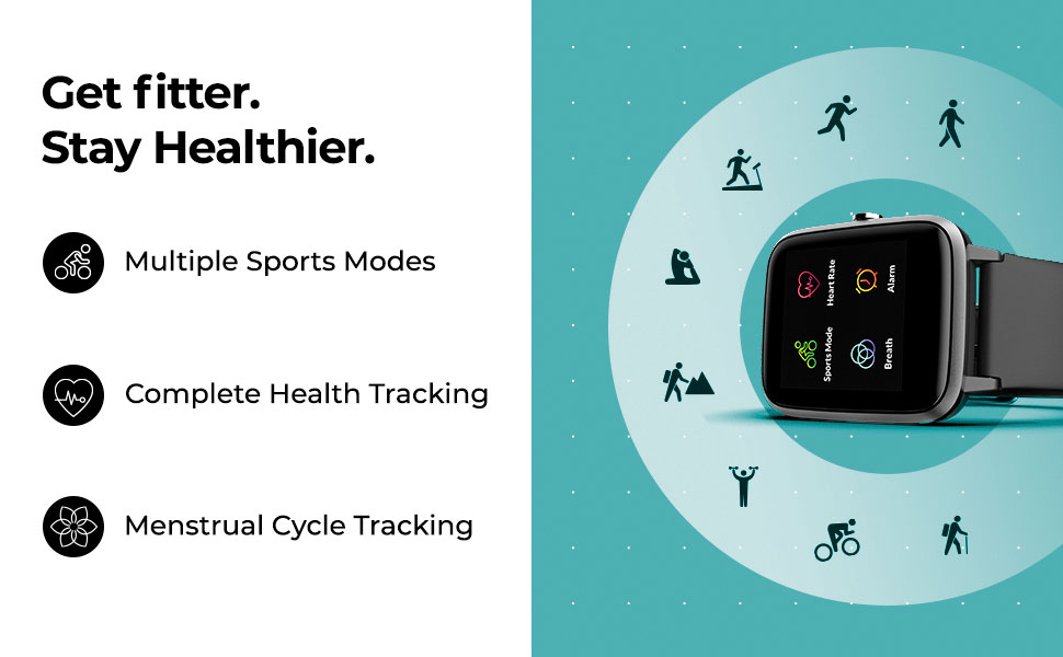 Best Noise Colorfit Pro 2 Full Touch Control Smart Watch Get Fitter Stay Healthier Online India 2020