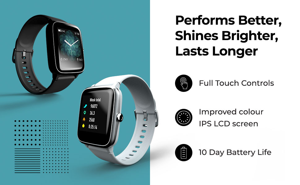 Best Noise Colorfit Pro 2 Full Touch Control Smart Watch With All Features Online India 2020