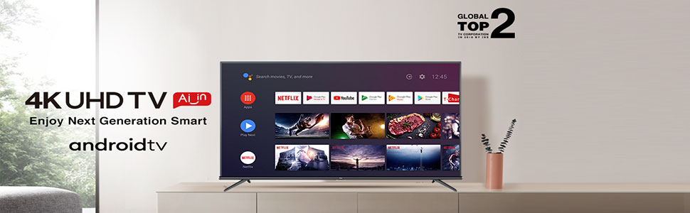 Top Best TCL Ultra HD Smart Certified Android LED TV Online India 2020