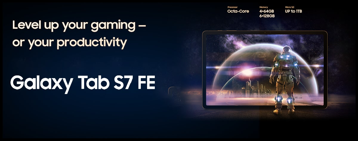 Top Best Samsung Galaxy Tab S7 FE Price Online India 2021 Level up your gaming or your productivity