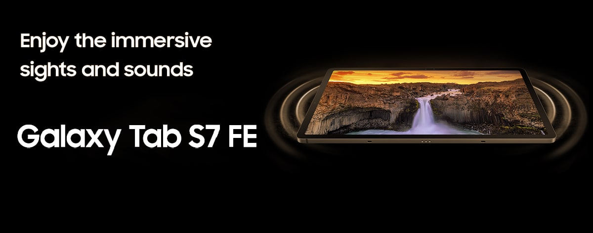 Top Best Samsung Galaxy Tab S7 FE Price Online India 2021 Short Video Enjoy the immersive sights and sounds